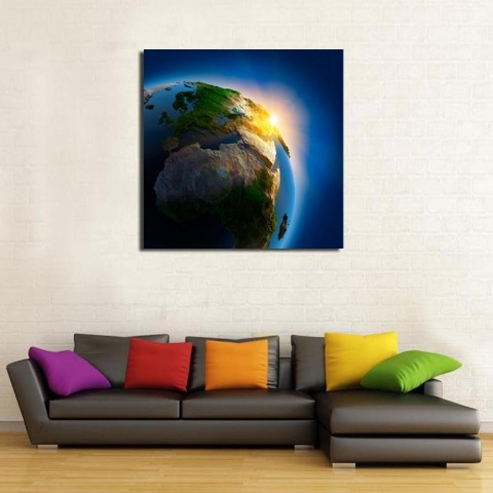 Painting of Earth