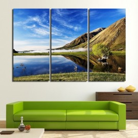 Beautiful Lake Scenery Wall Art Prints